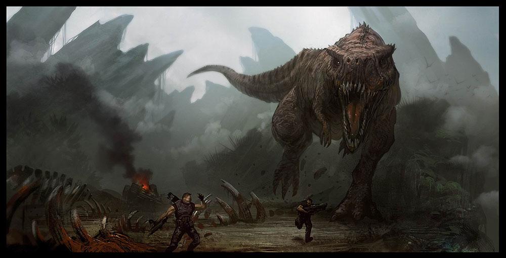 Giganotosaurus - JungleKey.fr Image