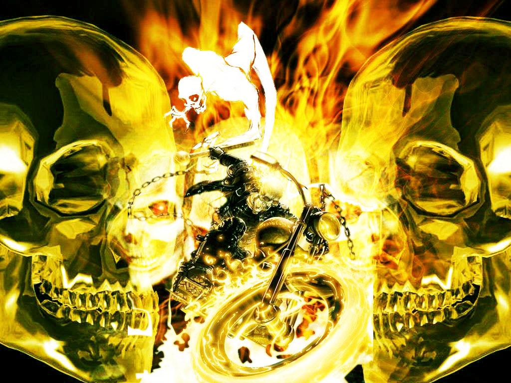 Imagenes De Calaveras Satanicas Top Calaveras Con Fuego