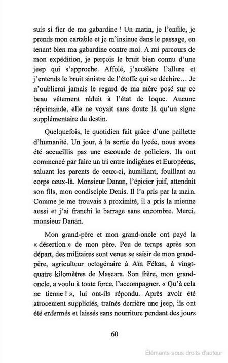 Algérie une mémoire à vif, ou Le caméléon albinos Senouci4-2f15470