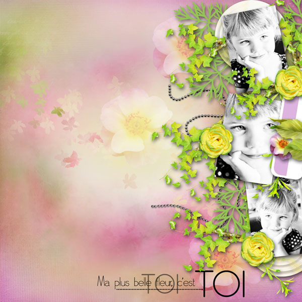 kit sweet flowers collab cajoline simplette page cocotounette